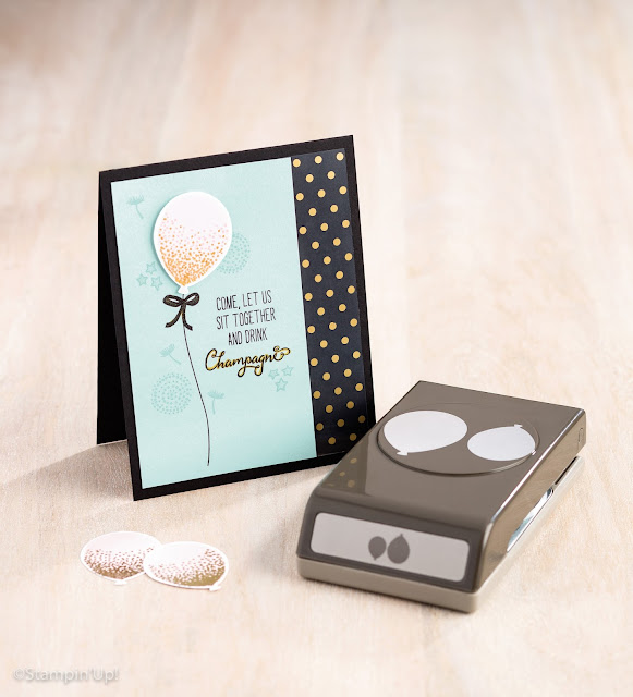 Balloon Celebration, Balloon Bouquet Punch, Stampin' Up!