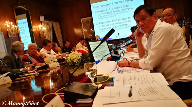 President Duterte Approves National Broadband Program