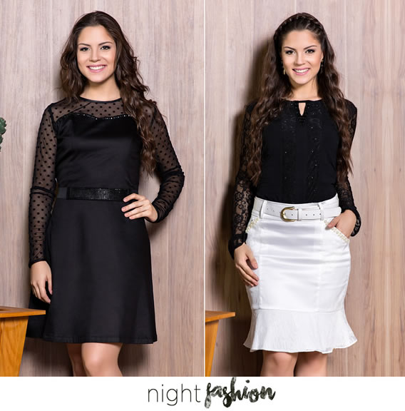 Night Fashion da Nítido Moda Evangélica