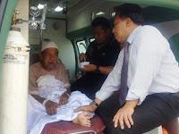 Akhirnya Kantor TUH KJRI Jeddah Pulangkan Pasien Sarkowi