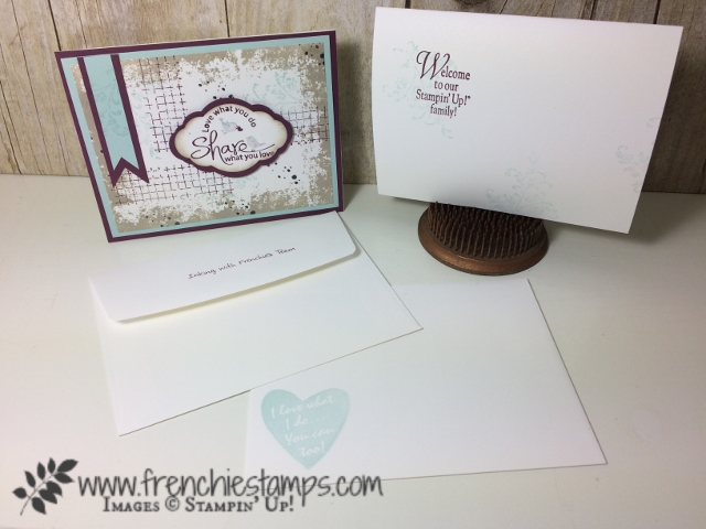 Pretty Label, Timeless Textures, Stampin'Up!, Frenchiestamps,