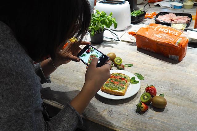 Hovis: Chia Bread Launch photo taking