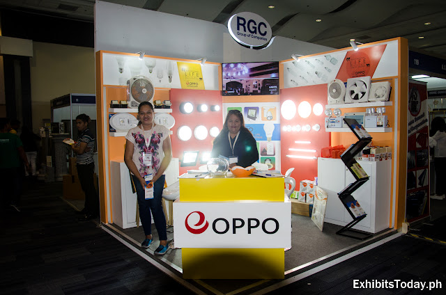 Oppo Lighting Philippines exhibition booth