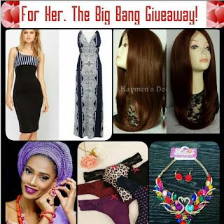 The February Big Bang Sales Giveaway #BigBangSalesGiveaway