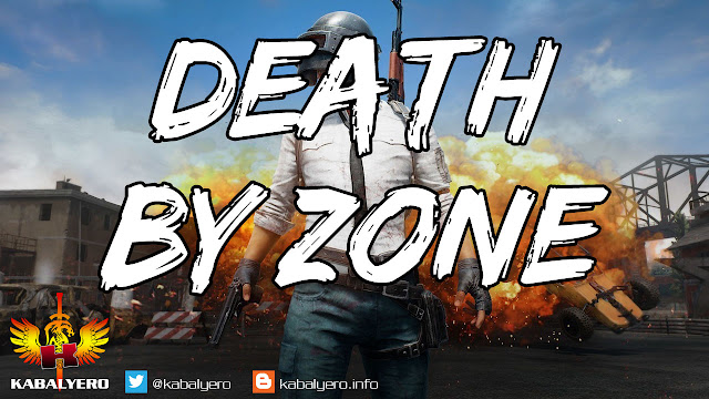 PUBG Mobile On PC (6.16.2018) DEATH BY PLAYZONE!