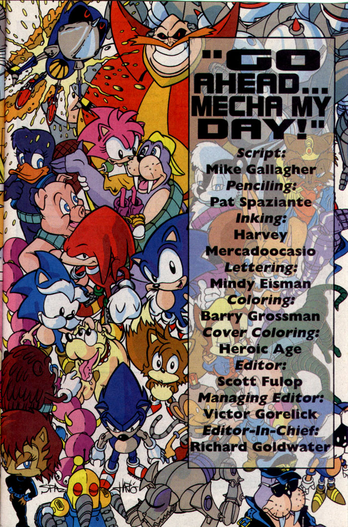 Read online Sonic The Hedgehog comic -  Issue #25 - 26