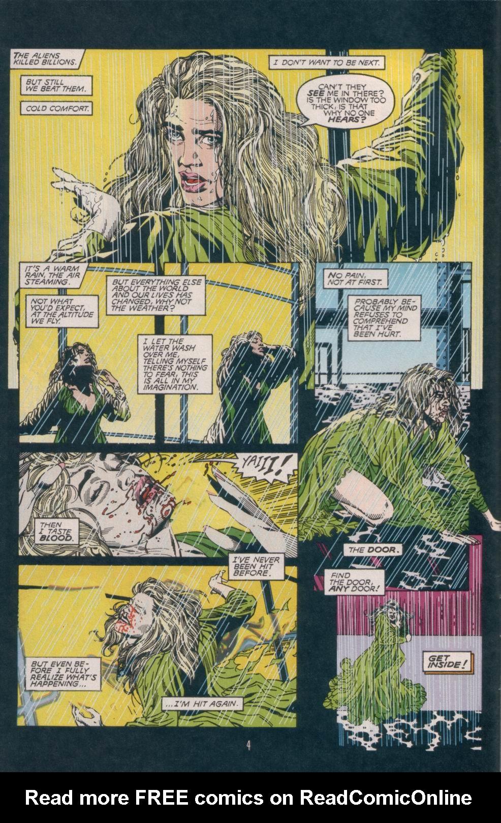 Read online Aliens/Predator: The Deadliest of the Species comic -  Issue #1 - 5