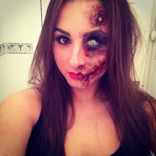 Best Halloween Zombie Costumes Make Up Ideas For Girl