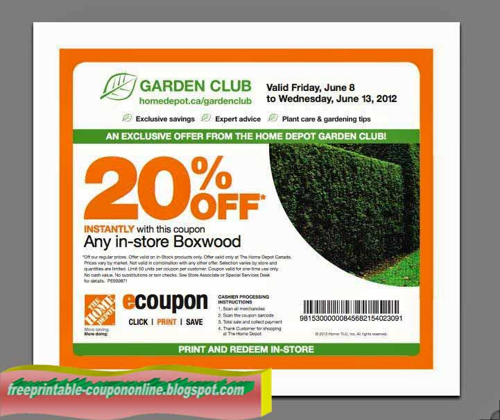 Home depot online coupons may 2018