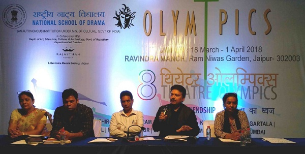 jaipur, rajasthan, theater olymics in jaipur, 8th theater olymics, ravindra rang manch jaipur, ravindra manch jaipur, national school of drama, jaipur news, rajasthan news