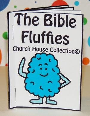 church house collection blog the bible fluffies mini. Black Bedroom Furniture Sets. Home Design Ideas