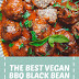 The Best Vegan BBQ Black Bean Meatballs