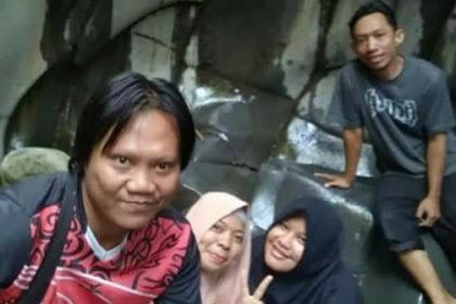 Wisata air Curug Cikuluwung di Bogor barat