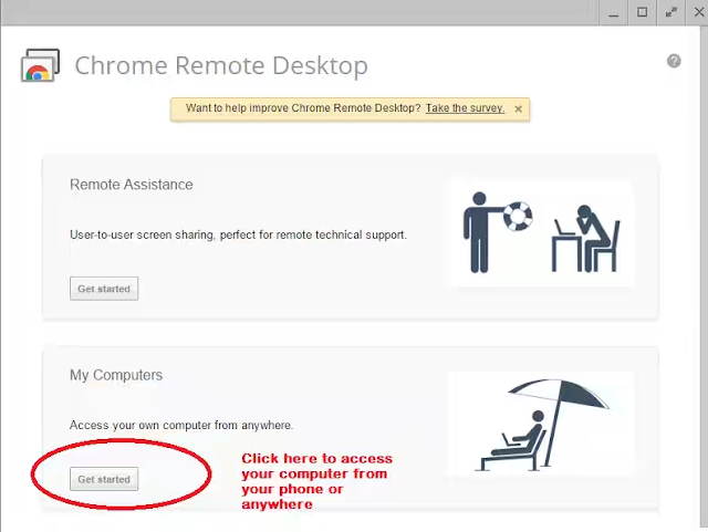 Control Your PC Via Your Android Phone using Google chrome remote desktop-2015 remote access