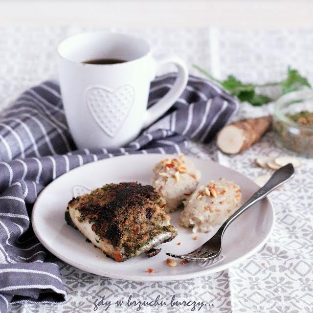 Ryba z topinamburem