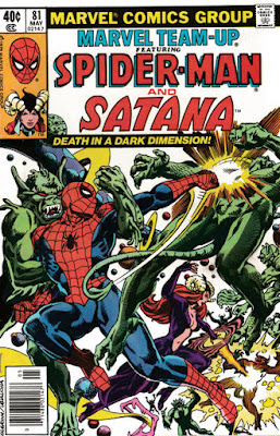 Marvel Team-Up #81, Spider-Man and Satana