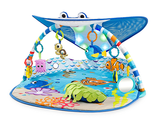 Disney Baby Mr Ray Ocean Lights Activity Gym Cwtches