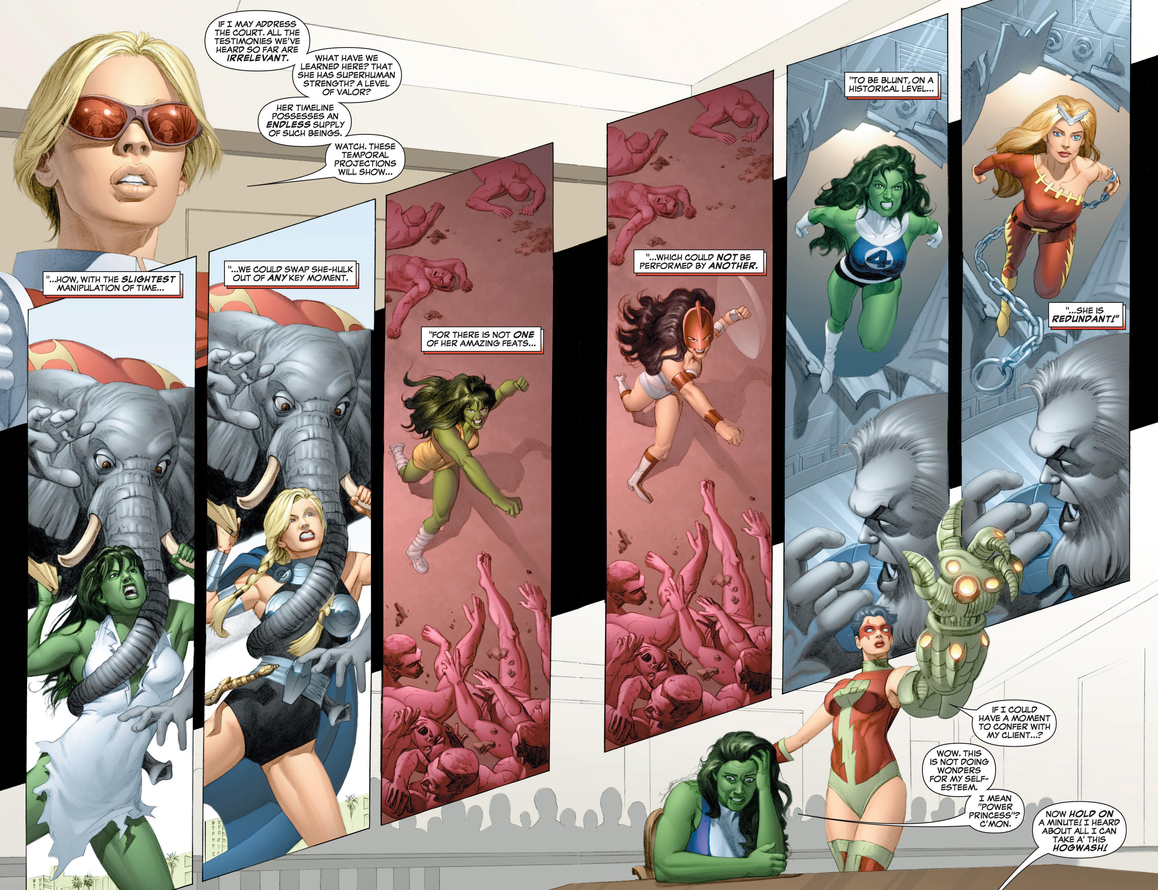 Read online She-Hulk (2005) comic -  Issue #3 - 20