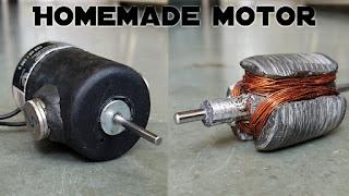Cara Membuat Motor Dinamo Sederhana dari Botol Parfum