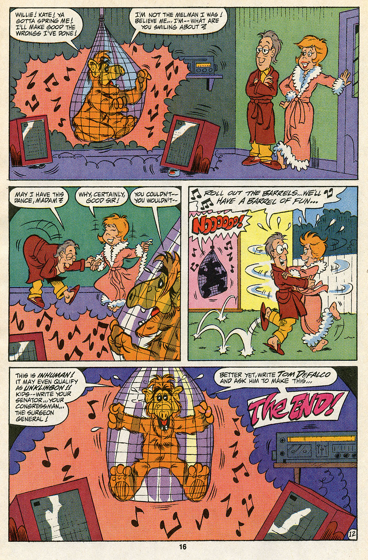 Read online ALF comic -  Issue #43 - 18
