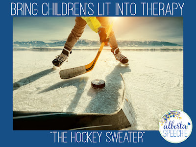 "Bring Children's Lit into Therapy with ""The Hockey Sweater"""