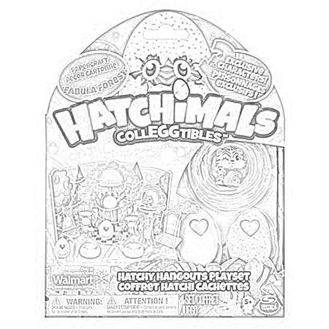 Coloring Pages Hatchimals Coloring Pages Free And Downloadable