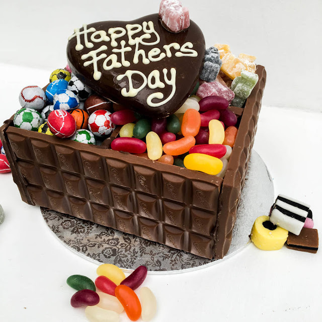 Happy Fathers Day Cakes & Chocolates 2017 - Gifts For Fathers Day From Son And Daughter