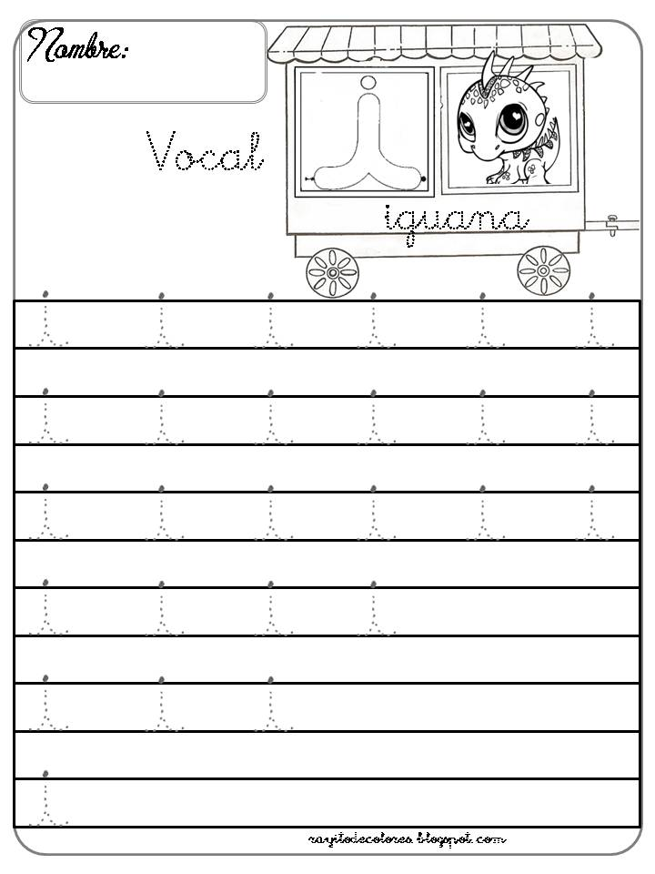 Caligrafía vocal i