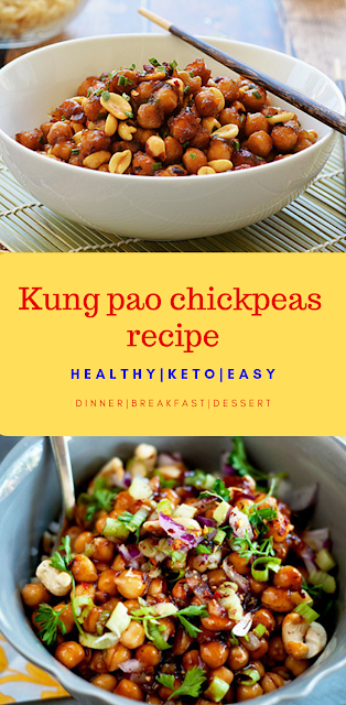 Swap the meat with flavorful chickpeas in this classic Chinese dish