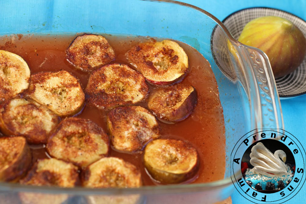 Figues rôties au miel et épices