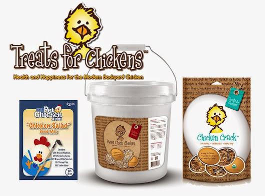 Tilly's Nest: Giveaway: Treats for Chickens Goodies Bonanza