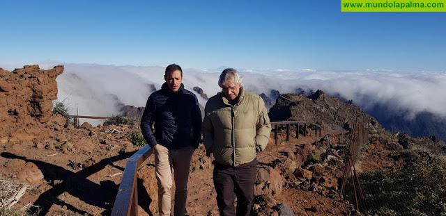 Zapata subraya el apoyo del Gobierno de España al Instituto de Astrofísica de Canarias