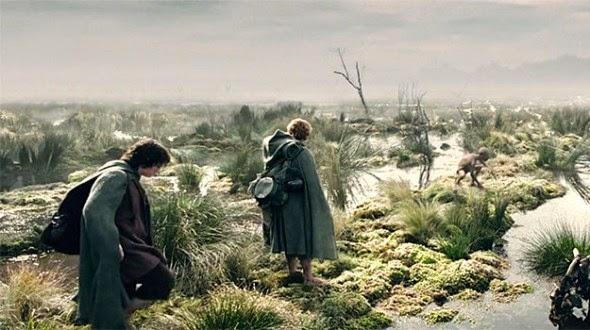 Koliko daleko Frodo i Sam su zapravo morali hodati u Gospodaru prstenova?