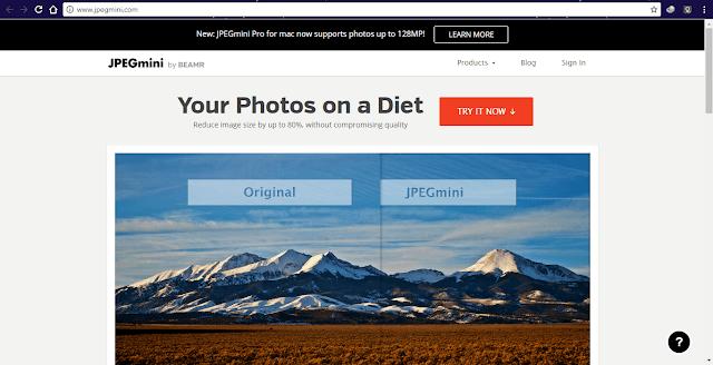 5 Situs Untuk Mengkompres Gambar Gratis