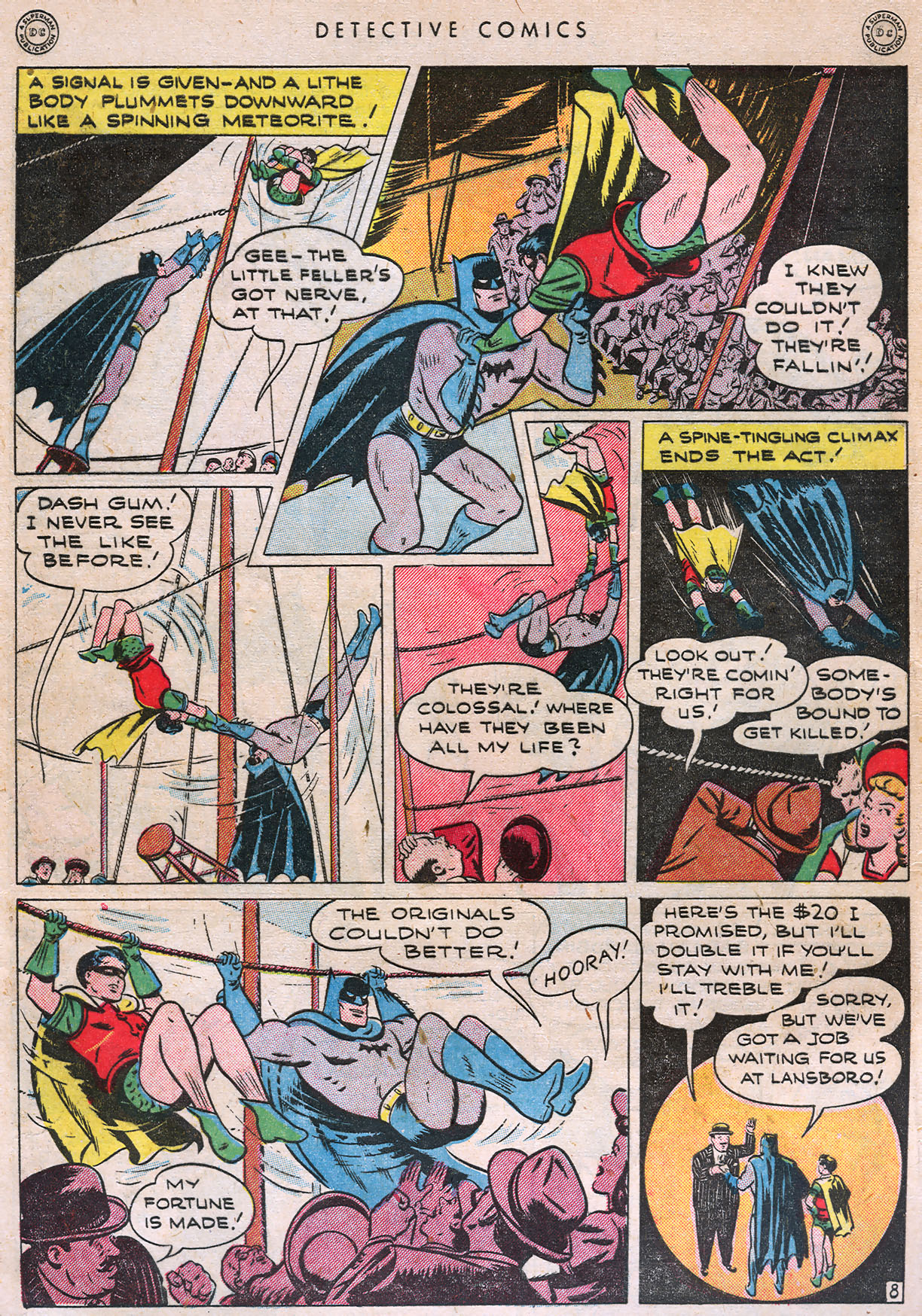 Read online Detective Comics (1937) comic -  Issue #105 - 10
