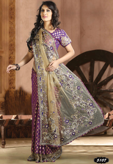 model baju sari india modern