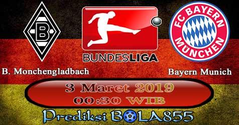 Prediksi Bola855 B. Monchengladbach vs Bayern Munich 3 Maret 2019
