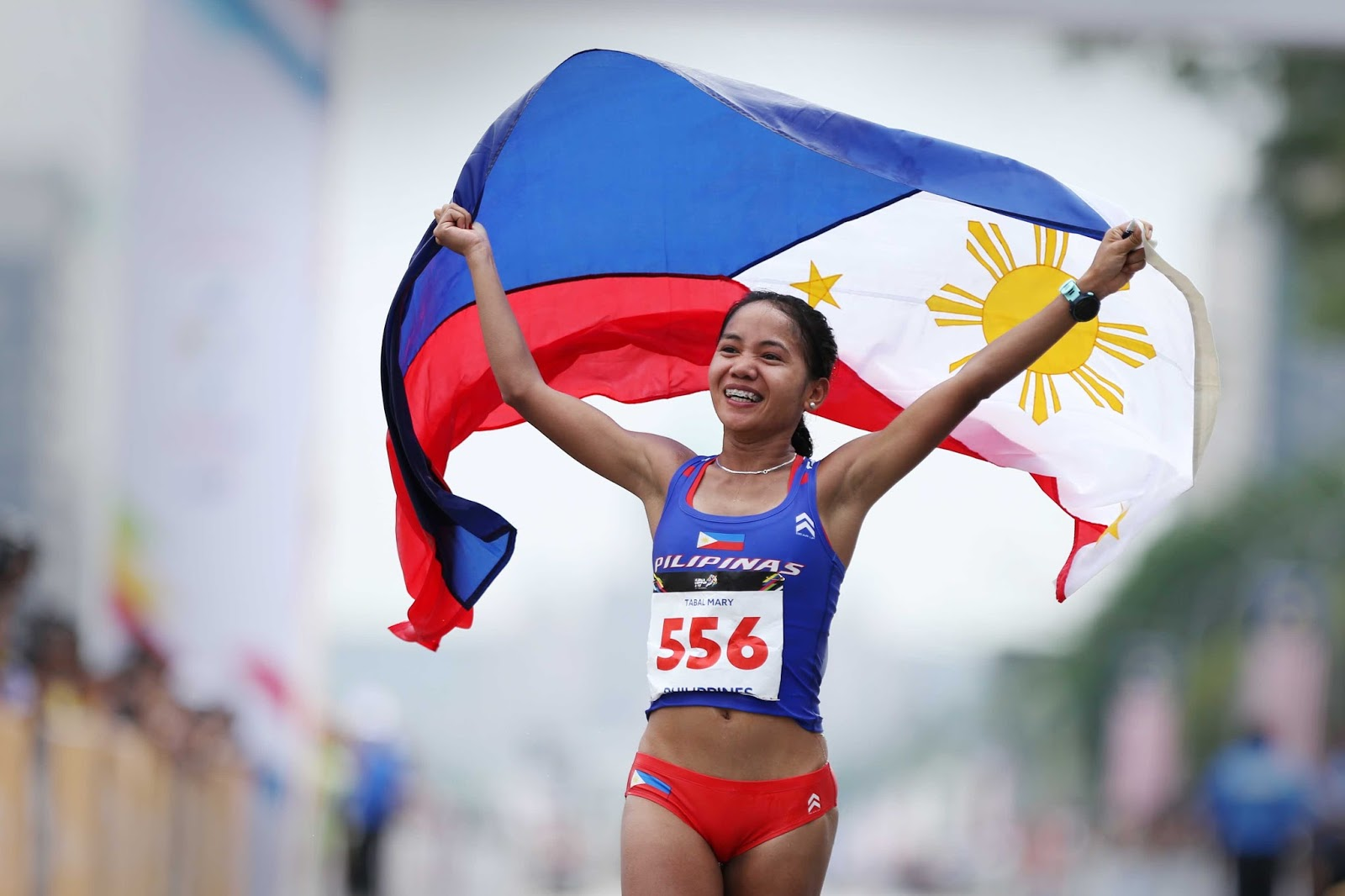 Mary Joy Tabal first gold Philippines
