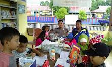 Peduli pendidikan, Kantor Bhabinkamtibmas Jadi Taman Bacaan