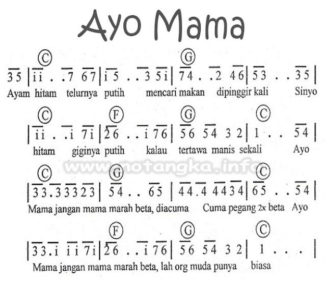 Not Angka Ayo Mama