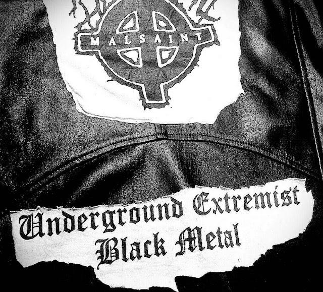 MALSAINT underground black metal