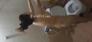 Clip: Em gái Việt vừa xinh vừa ngon đang tắm, Lau nước dãi đi các Thanh niên =))