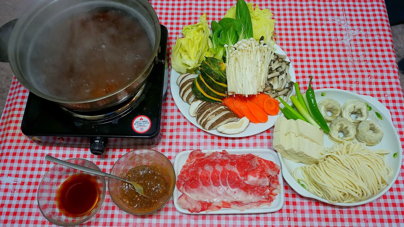 Recipe: Korean Style Shabu Shabu (샤브샤브)