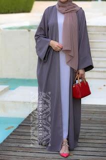 Model Gamis Idulfitri Terbaru 2017