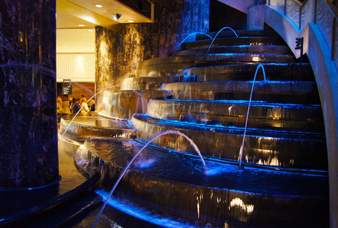 Crown Casino Atrium Light Show