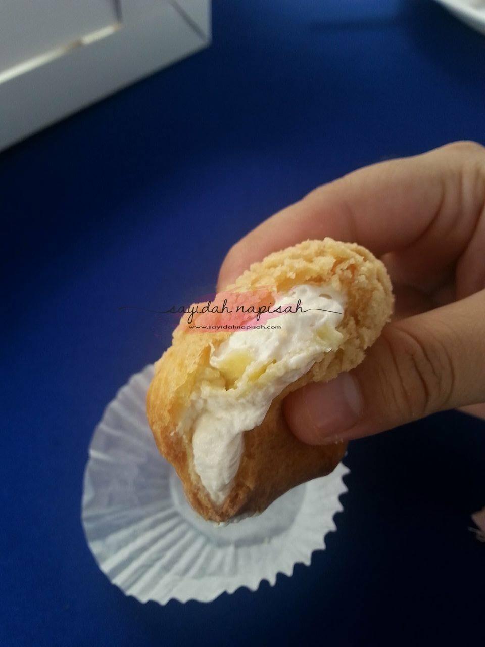 Cream Puff paling sedap pernah ku rasa!