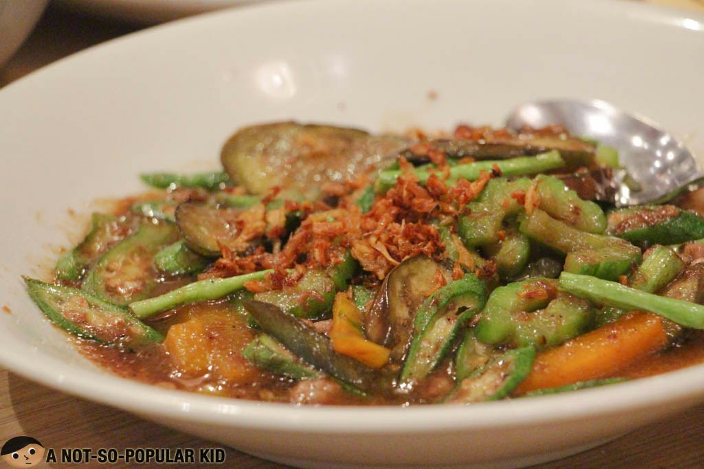 Filipino Vegetable Pinakbet