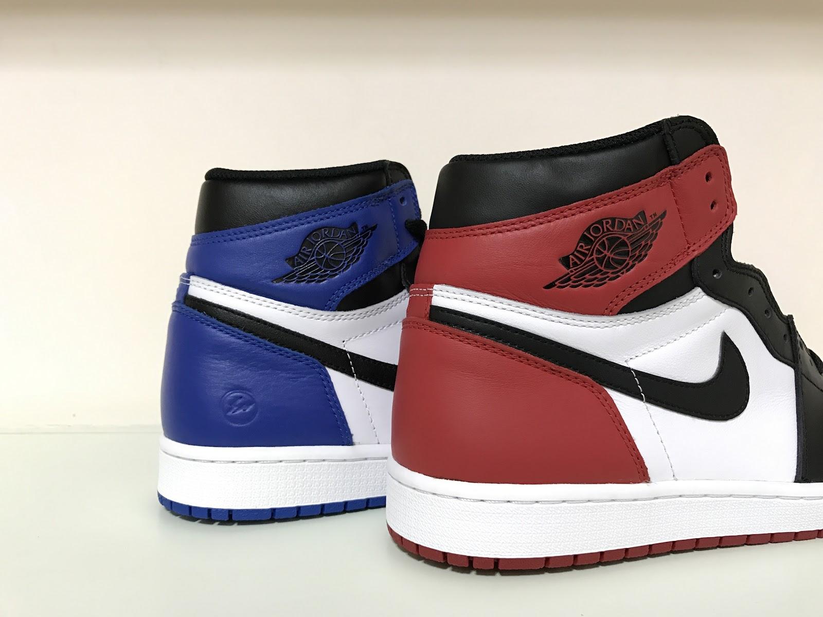 Nike Air Jordan 1 Retro High OG fragment vs. Black Toe - Way of Life ba6df9ecaada