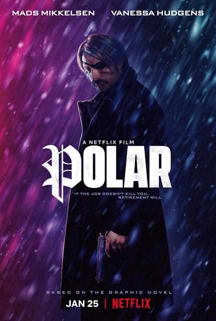 Polar 2019 Netflix movie poster