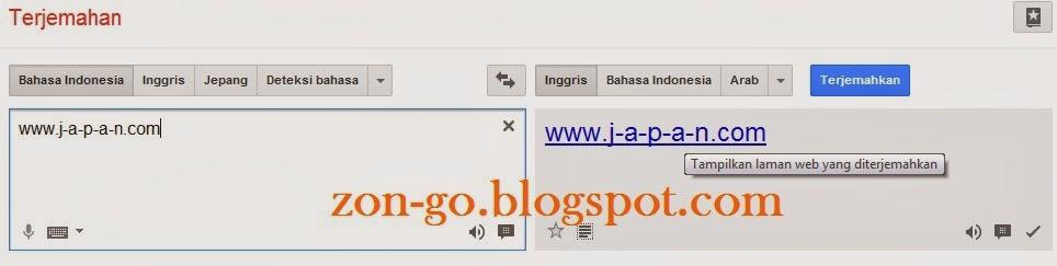 membuka hack situs yang diblokir dengan google translate